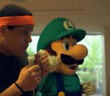 Reggie Fils-Aime, president of Nintendo of America, training for the World Championships.