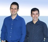 Twistlock founders Ben Bernstein, left, and Dima Stopel.