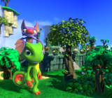 Yooka-Laylee is the spiritual successor to Banjo-Kazooie.