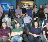 Digit Game Studios team in Ireland.