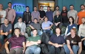 Digit Game Studios team in Ireland.