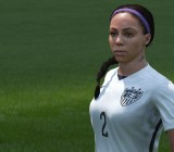 Soccer star Sydney Leroux of the U.S. women's national soccer team, in EA's FIFA 16.