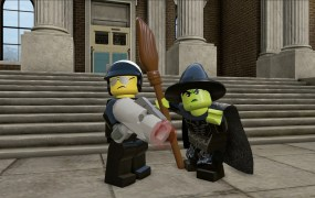 Bad Cop and Wicked Witch in Lego Dimensions.