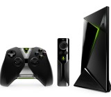 Nvidia Shield set-top box, Shield remote control, and Shield Controller
