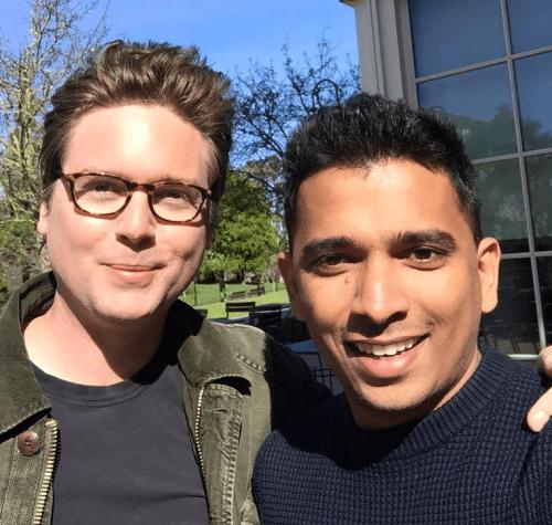 Biz Stone and Lookup founder Deepak Ravindran