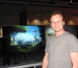 Hermen Hulst of Guerrilla Games showing Horizon: Zero Dawn.