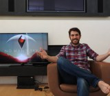 Hello Games founder Sean Murray showing No Man's Sky at E3 2015.
