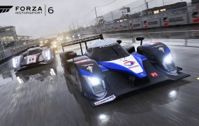 The gorgeous rain effects of Forza Motorsport 6.