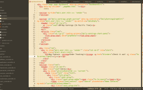 Atom's sepia-syntax theme.