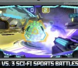 Metroid Prime: Federation Force for the 3DS featuring the Blast Ball competitive game.