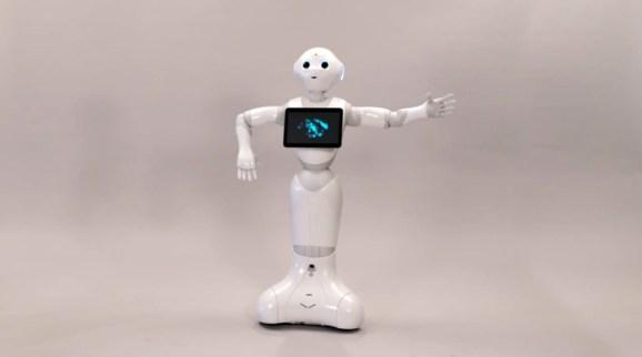 SoftBank's emotionally intelligent 'Pepper' robot launches for enterprises on October 1