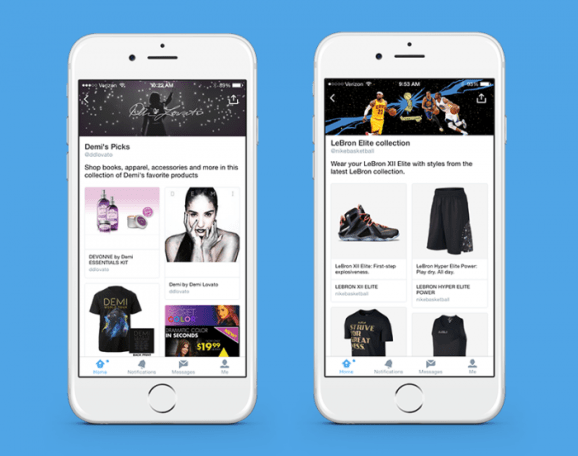 Twitter tests dedicated pages and curated collections for products and places