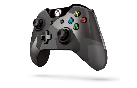 The new Xbox One controller.