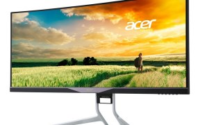 Acer 34-inch curved gaming monitor.