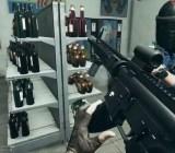 I'm about to get shot in Battlefield Hardline: Criminal Activity.