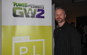 Jeremy Vanhoozer, franchise creative director at PopCap Games for Plants vs Zombies: Garden Warfare 2.