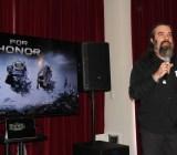 Jason Vandenberghe, creative director on Ubisoft's For Honor.
