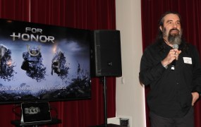 Jason Vandenberghe, creative director on Ubisoft's For Honor.