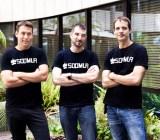 Soomla cofounders Yaniv Nizan (CEO), Gur Dotan (VP Marketing), and Refael Dakar (CTO).