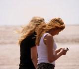 texting beach