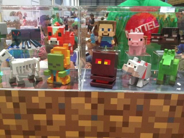 Mattel at Minecon 2015