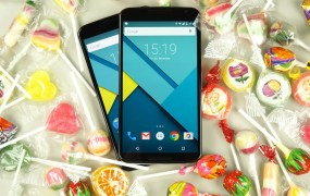 The Nexus 6 phone with Android Lollipop.