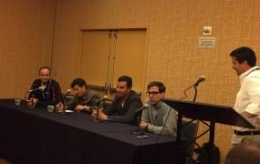 From L to R: Charles Manning (Kochava), Juan Pablo Bedoya (Lifelock), Assaf Vaknin (AppsFlyer),  Jason Morse (Criteo), Adam Marchick (Kahuna)