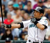 Ichiro Suzuki during his time with the Seattle Mariners, which Nintendo of America partially owns.