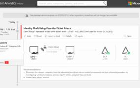 A demo of Microsoft Advanced Threat Analytics.