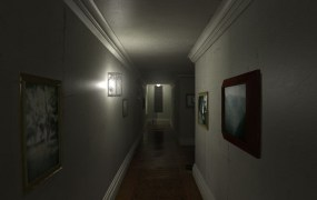 The P.T. hallway, re-created for PC, Mac, and Linux.