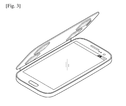 Samsung patents tech to measure body fat with a phone