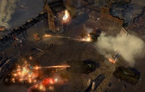 British armor in Company of Heroes 2.