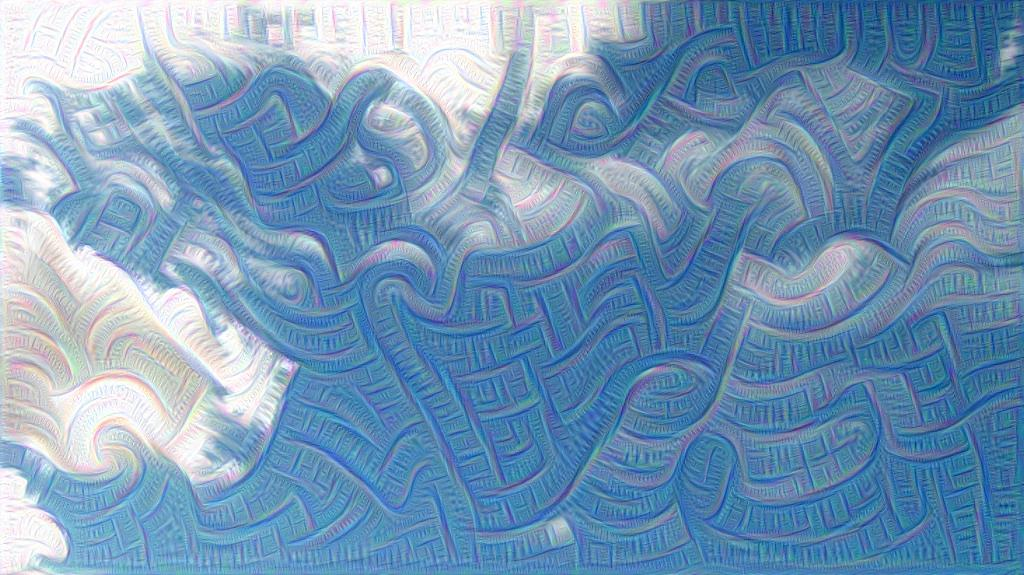 Deepdream in action.