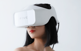 The Fove headset.