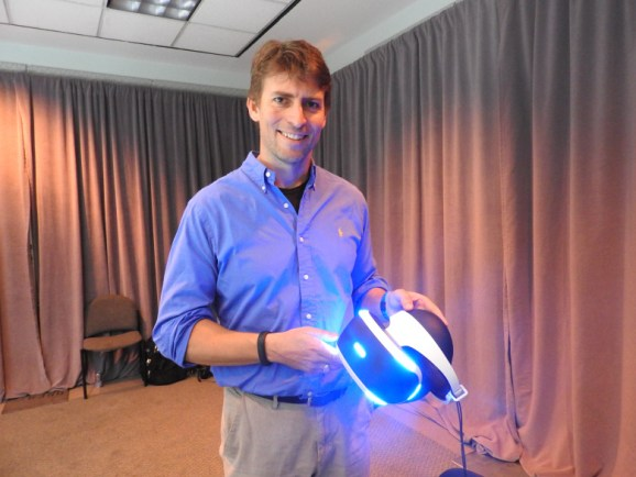 Richard Marks, director of the PlayStation Magic Lab at Sony, will join GamesBeat 2015's panel on virtual reality in October.
