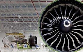 A GE jet engine.