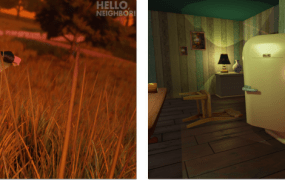 Dynamic Pixels' Hello Neighbor.