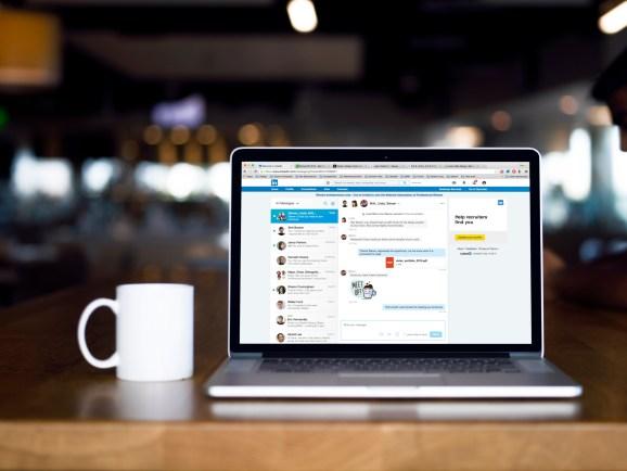 LinkedIn messaging experience 3