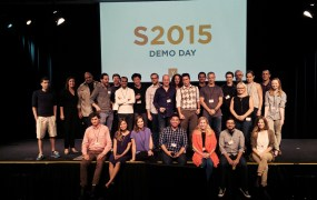 The Y Combinator partners at the program's summer 2015 demo day