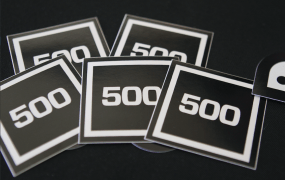 500 Startups stickers
