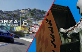 Forza Motorsports 6 tv ad comparison Gran Trak 10 cabinet