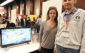 Natalia Matveeva, CEO of Realore with cofounder Michael Zhinko.