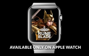 Runeblade on Apple Watch.