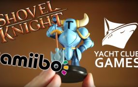 The Shovel Knight Amiibo.