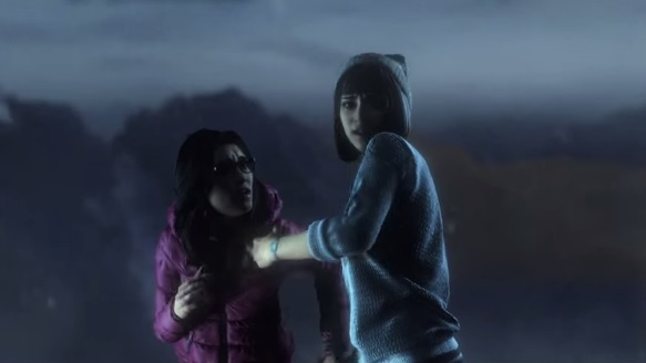 Beth and Hannah in Until Dawn