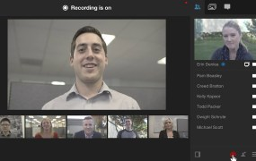 You can record Blue Jeans video conference meetings.