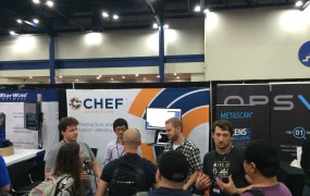 The Chef booth at Microsoft's 2014 TechEd conference in Houston