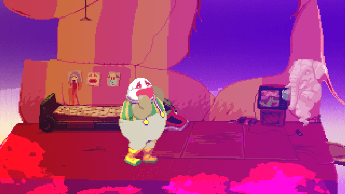 Even when not soaked in blood, Dropsy's dreams hint at some serious, unresolved trauma.