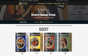 Esquire Classic Issue Year