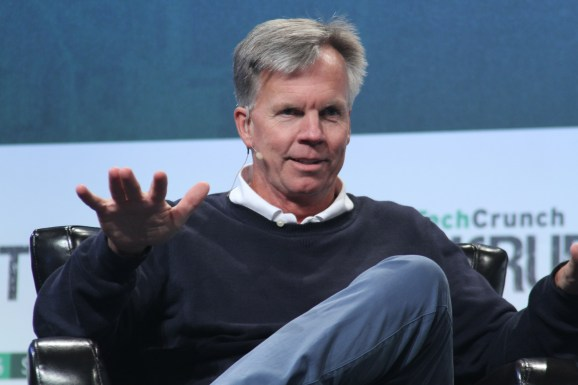 Enjoy founder and chief executive Ron Johnson speaks on stage at the TechCrunch Disrupt conference in San Francisco on September 23, 2015.